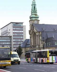Luxembourg - Station area