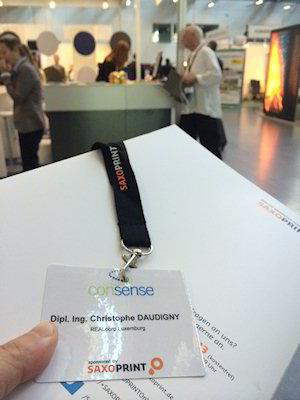 DGNB Consense 2014 Christophe Daudigny nametag