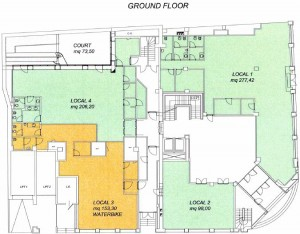 Radbury ground floor plan