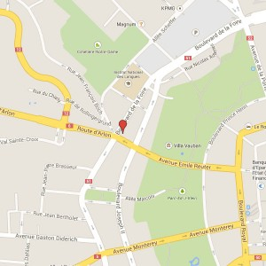 Radbury on map