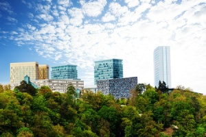 These capital buildings are some of the huge number of properties available to lease or own in Luxembourg City.