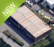 Gasperich 1317.02m² divisible from 379.8m² (Office), 63.09m² (Industrial)