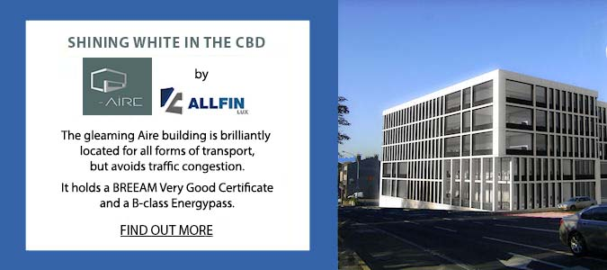 RealCorp Luxembourg is marketing Aire by AllFIN Lux. The gleaming Aire building is brilliantly located for all forms of transport, but avoids traffic congestion. It holds a Breeam Very Good Certificate and a B-class Energypass. Click to find out more.
