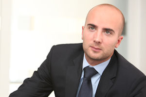 Tehdi-Edouard Babigeon, Head of Letting and Sales, RealCorp Luxembourg