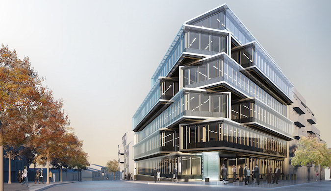 One on one office building realcorp luxembourg
