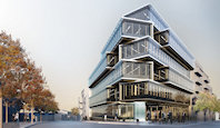 The One on One building marketed by RealCorp Luxembourg