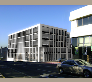 Alternative view of Aire Building developed by ALLFIN Lux