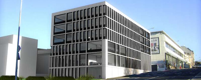 Aire Building Luxembourg Developed by ALLFIN Marketed by RealCorp Luxembourg