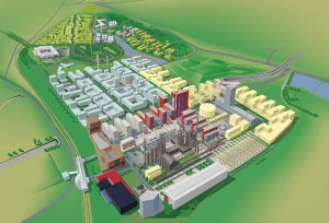 Plan 3D Esch Belval