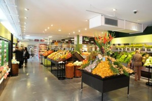 Monoprix-shop in Luxembourg