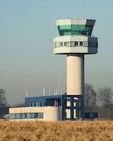 Findel Airport Air Control Tower Luxembourg