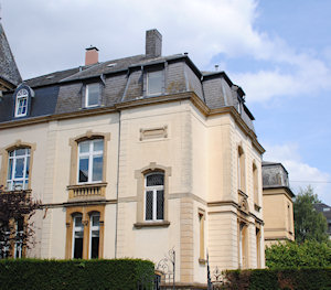 Side View of Belair House Luxembourg