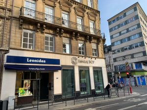 Leonidas Shop on Rue Jean Origer Luxembourg let to Leonidas by RealCorp Luxembourg